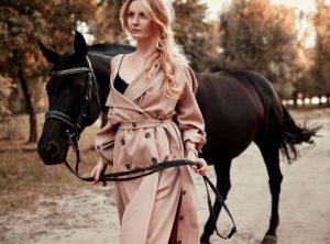 Осенние прогулки на лошадях