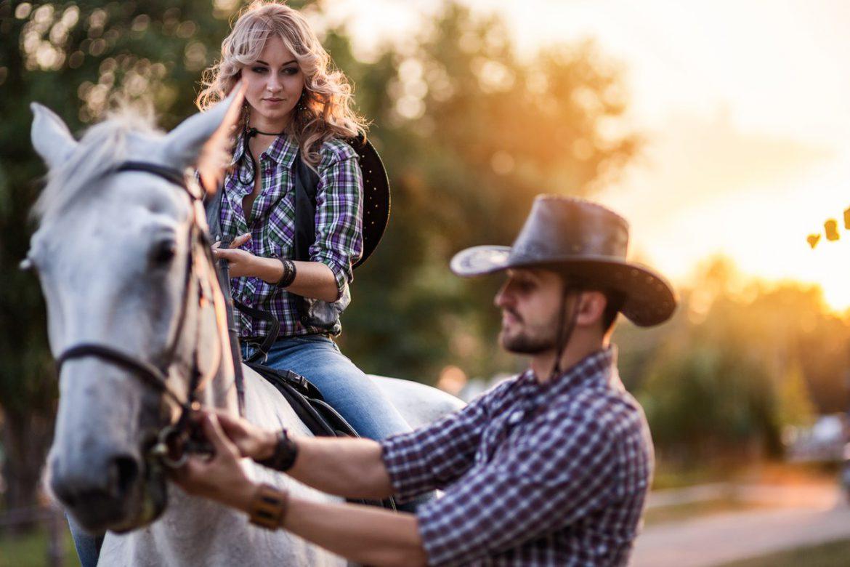 Техника безопасности на лошади