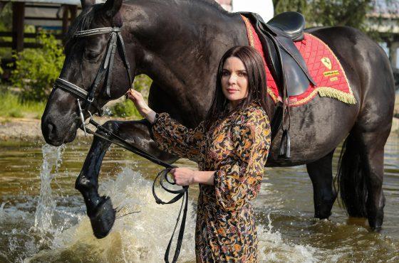 Купание с лошадьми